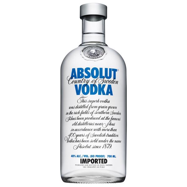vodka absolut - 700 ml 66421